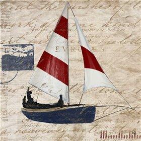 Sailing Stamp Border I