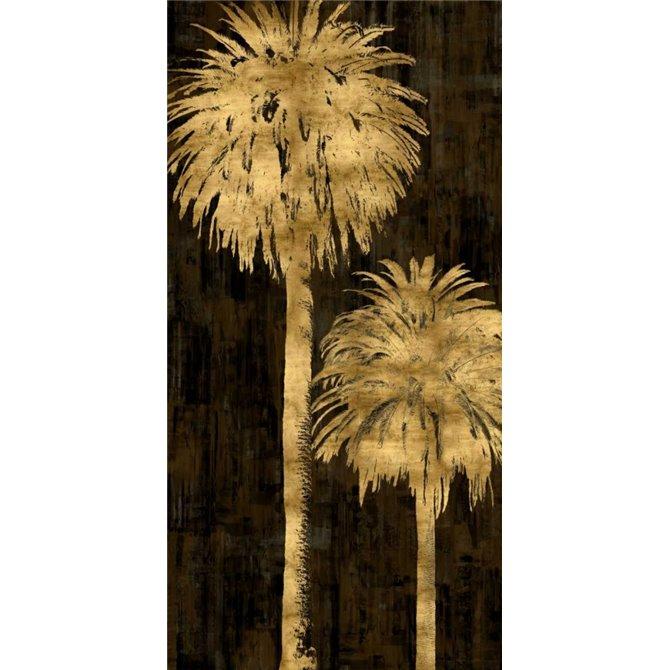 Golden Palms Panel I