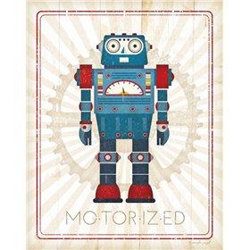 Retro Robot IV