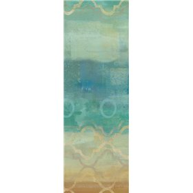 Abstract Waves Blue Panel I