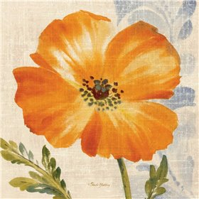 Watercolor Poppies III