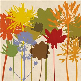 Colorful Bloom I