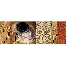 Klimt Deco-The Kiss