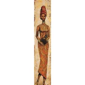 African Woman III