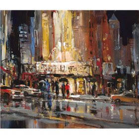 Street Scene Abstract