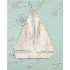 Coastal Sailboat