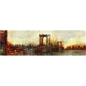 Over the Manhattan Bridge