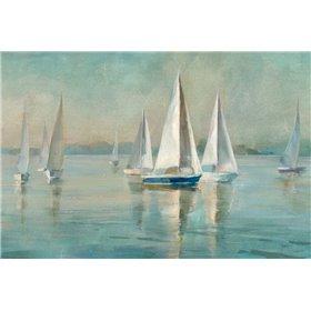 Sailboats at Sunrise