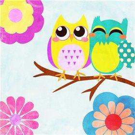 Cozy Owls I