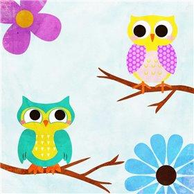 Cozy Owls II