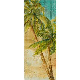 Beach Palm Panel I
