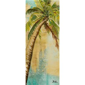 Beach Palm Panel II