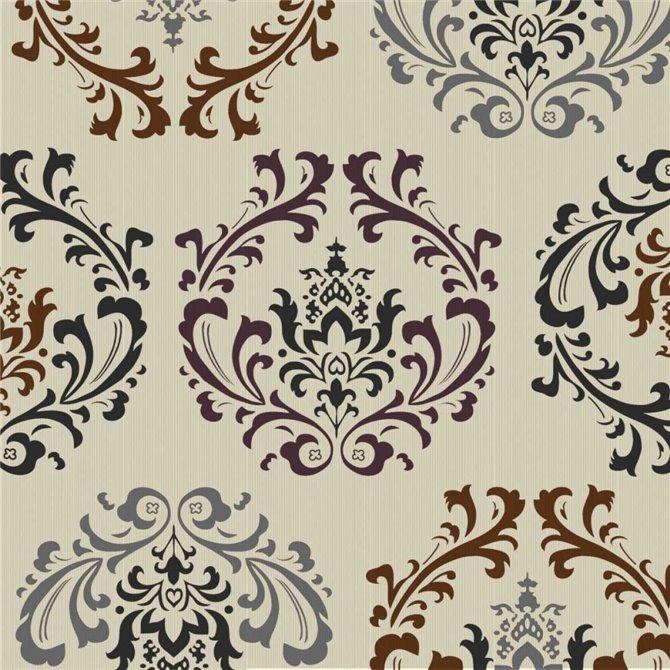 Damask Pattern 1
