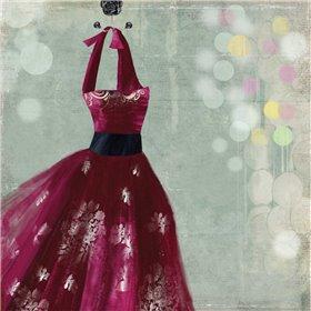 Fuschia Dress II