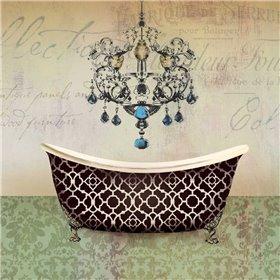 French Vintage Bath I - Mini