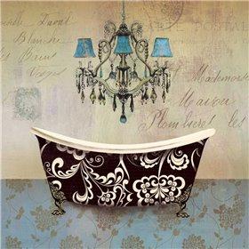 French Vintage Bath II - Mini
