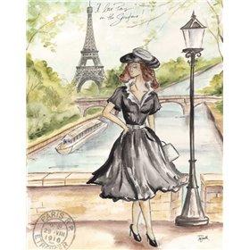 Springtime Paris Fashion I