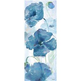 Shades of Blue Panel I
