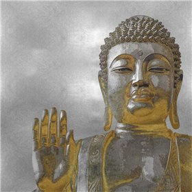 Silver and Gold Buddha