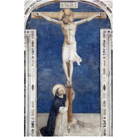 Crucifixcion With Saint Dominick
