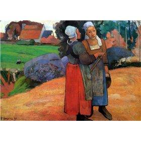 Breton Peasant Woman