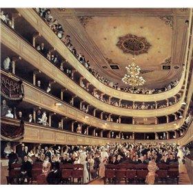 Auditorium Of The Old Burgtheater 1888
