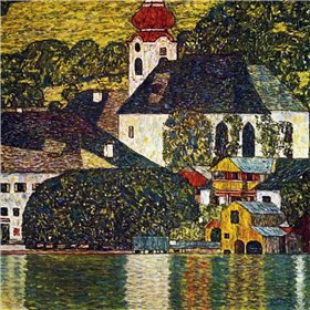 Church At Unterach On The Attersee