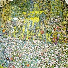 Garden Landscape With Hilltop 1916