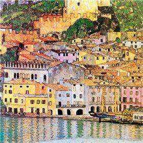 Malcesine On Lake Garda 1913