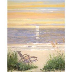 Beach at Sunset I