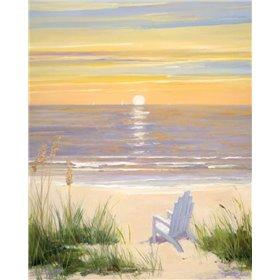 Beach at Sunset II