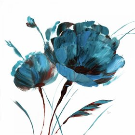 Blue Poppy Splash I