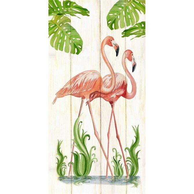 Flamingo Stroll 1