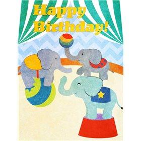 Elephants and Seals Birthday I