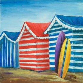Summer Beach Cabana I