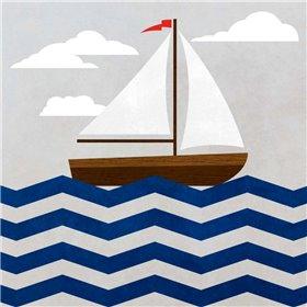 Chevron Sailing I