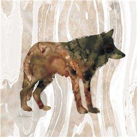 Pine Forest Wolf