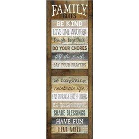 Family Rules Shutter