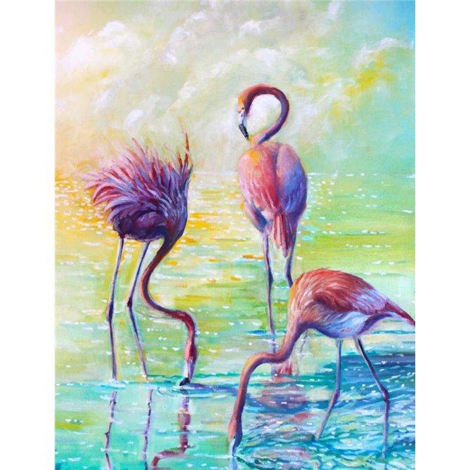 Flamingo Family 1