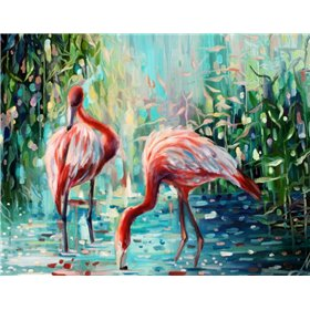 Flamingos Delight 1