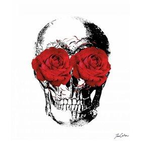 Flower Eyes Skull