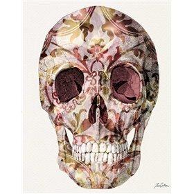Skull And Rose Petals