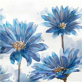 Bright Blue Garden I
