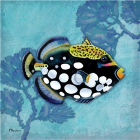 Azure Tropical Fish III