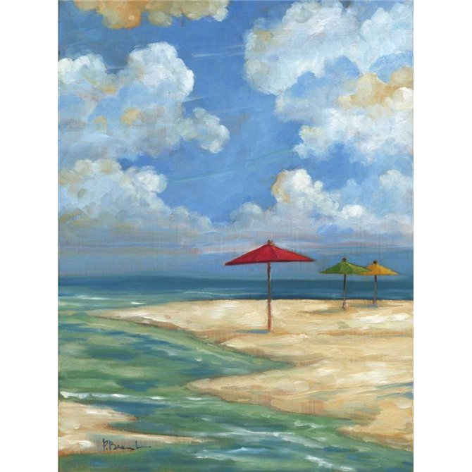 Umbrella Beachscape I