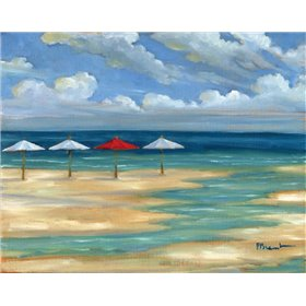 Umbrella Beachscape III