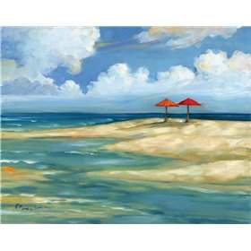 Umbrella Beachscape IV