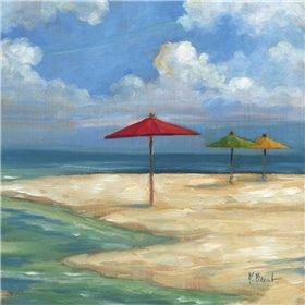 Umbrella Beachscape Sq. I