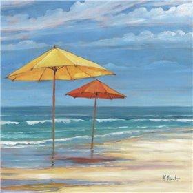 Umbrella Beachscape Sq. II