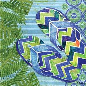 Blue Sarasota Sandals II